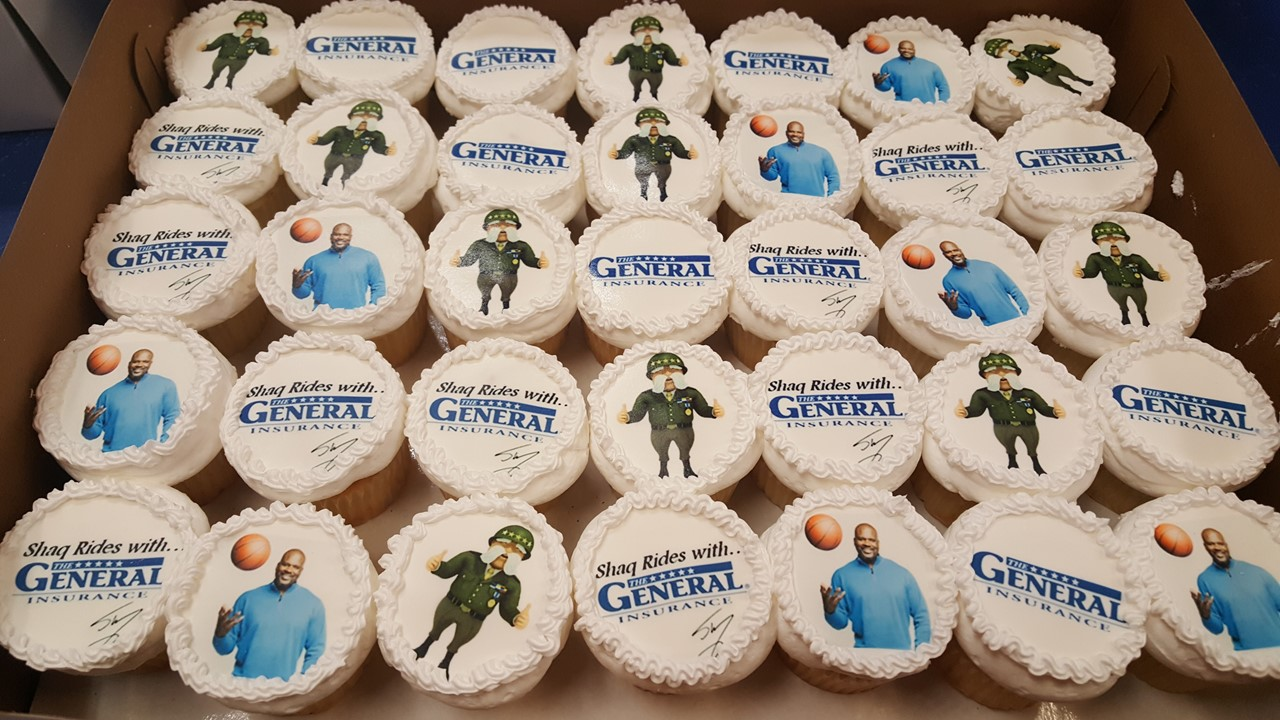 The General - cupcake for gallery