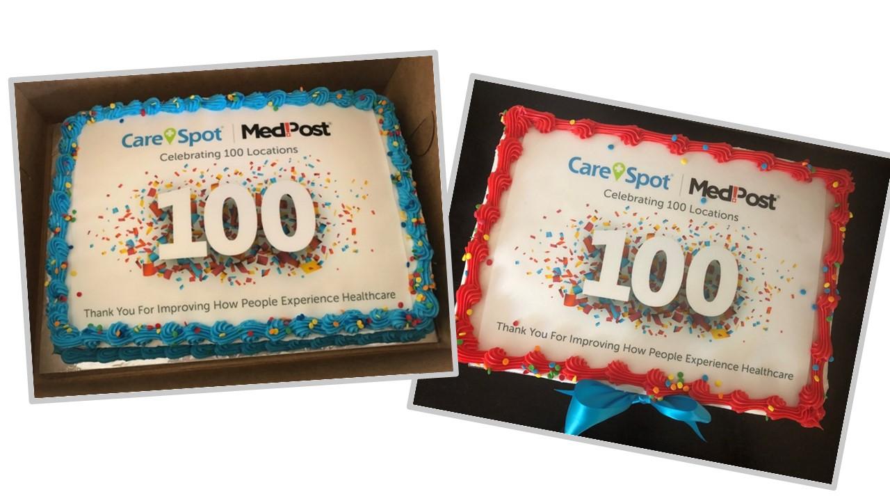 Carespot Medpost - cakes for gallery