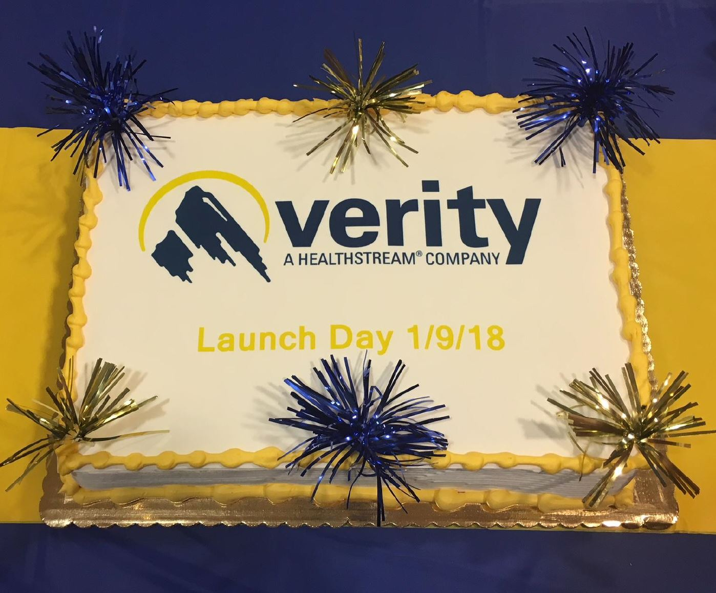 verity - cake for gallery (product launch)